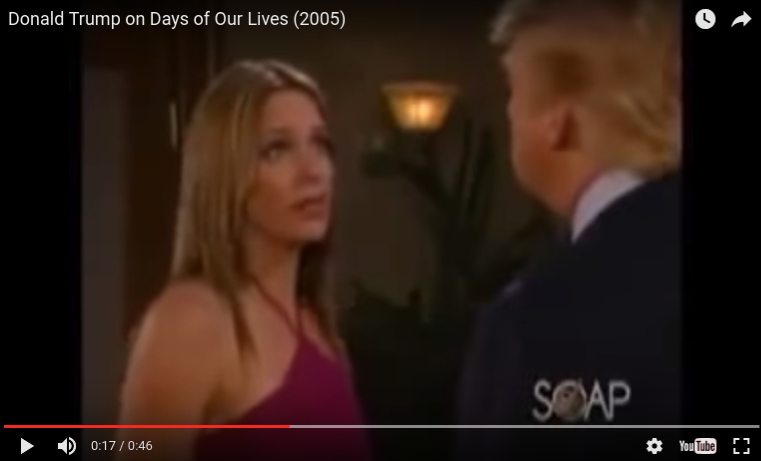 Days of Our Lives with Donald Trump 2005