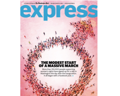 Women's March Express Cover