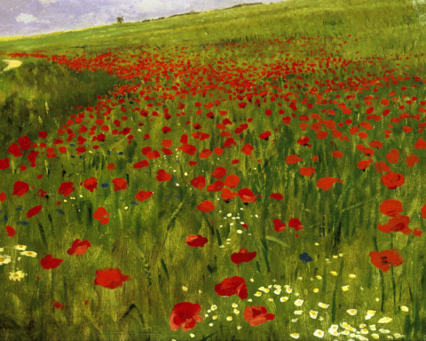Szinyei_Merse,_Pál_-_Meadow_with_Poppies_-_Google_Art_Project