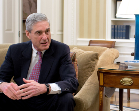 President Barack Obama and Vice President Joe Biden meet with senior advisors in the Oval Office to discuss the shooting in Aurora, Colorado, July 20, 2012. Pictured, from left, are: Kathryn Ruemmler, Counsel to the President, and FBI Director Robert Mueller. (Official White House Photo by Pete Souza)  This official White House photograph is being made available only for publication by news organizations and/or for personal use printing by the subject(s) of the photograph. The photograph may not be manipulated in any way and may not be used in commercial or political materials, advertisements, emails, products, promotions that in any way suggests approval or endorsement of the President, the First Family, or the White House.
