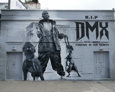 R.I.P. DMX. Photograph by Duncan Cumming